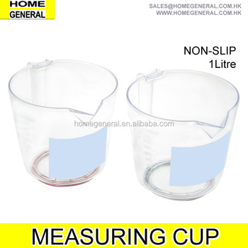 PLASTIC NON SLIP MEASURING CUP, MEASURING CUP FOR BAKING, MEASURING JUG, 2016 HK