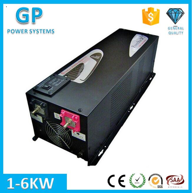 GP 24v/48v 220v 5000w pure sine wave air conditioning inverter power star w7