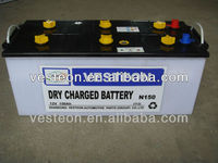 12v lead acid auto starting dry charged battery 180ah