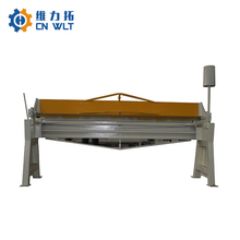best price 1.5mm steel sheet manual folding machine for sale