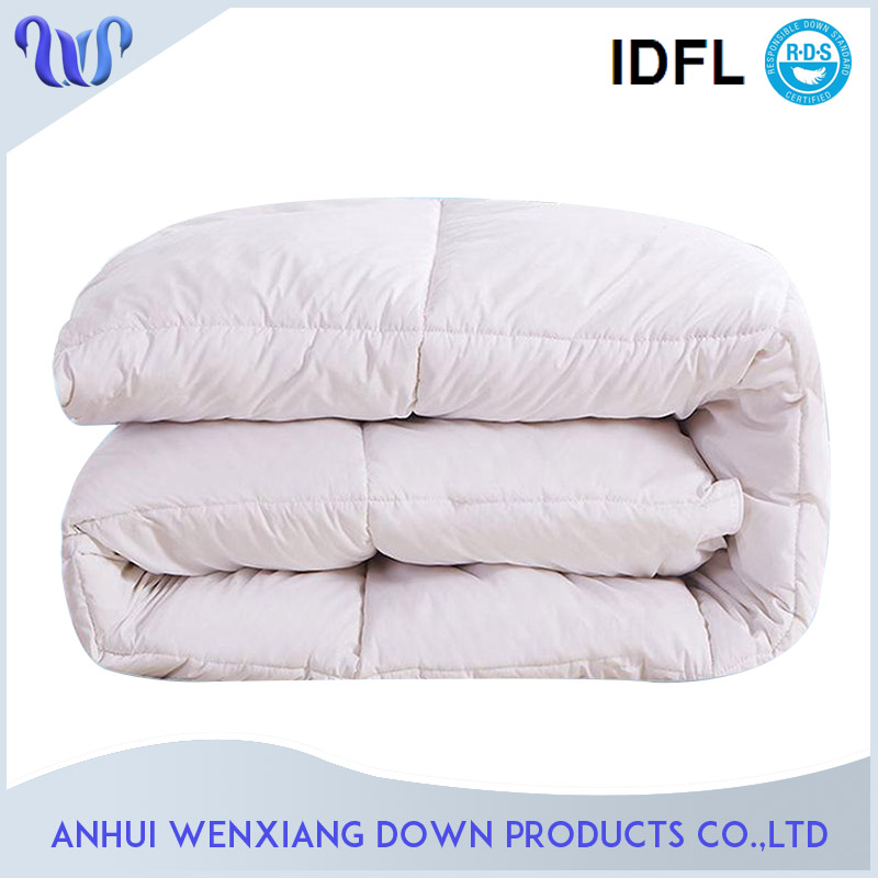 Wholesale Hometextile Nature Washed Soft 600 Power Queen Size Bed Hungary Goose Down Duvets Comforters Factory