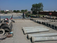 Concrete spun pipe making machinery