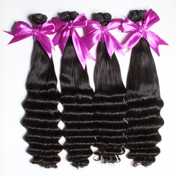 9A, 10A 100 unprocessed wholesale human hair weave, 100% virgin remy real indian hair for sale