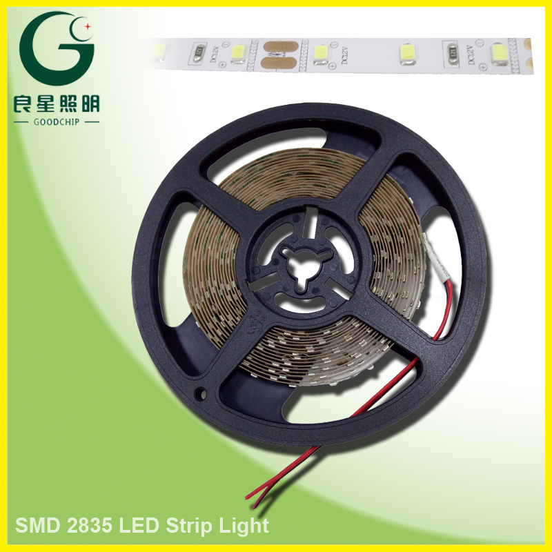 SMD Type Dc12v 14.4w 2835 Led Strip Flexible Car Light White