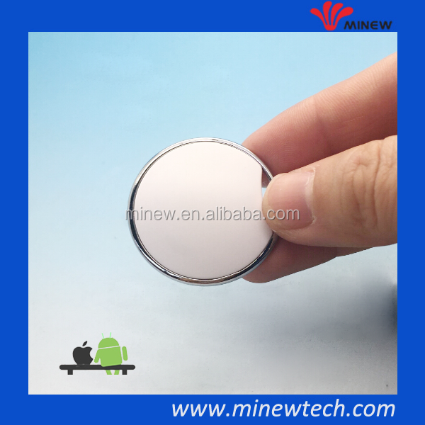 wearable ibeacon tag with button bluetooth ibeacon
