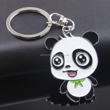 Promotional high quality new arrival top sale panda keychain