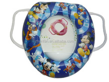 Baby Soft Padded Potty Training Toilet Seat With Handles