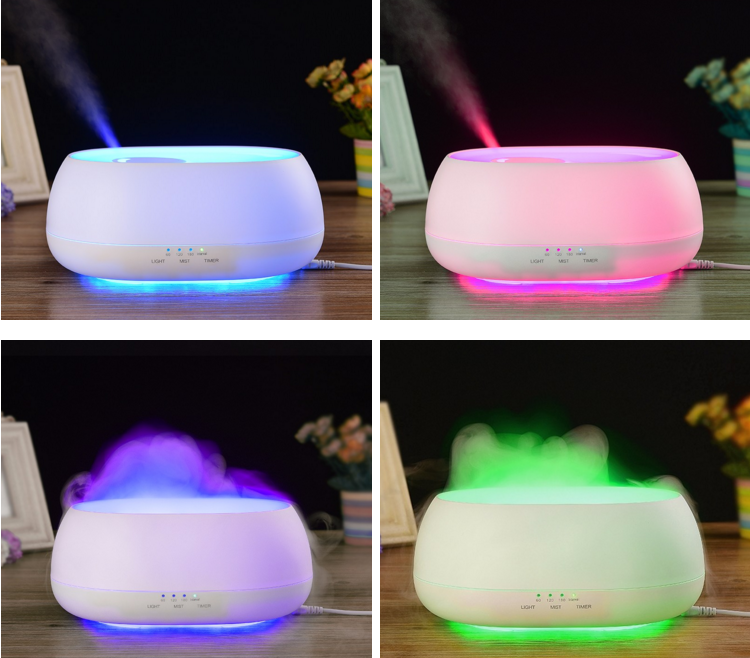 Aroma Therapy Candles Essential Oil Ultrasonic Humidifier