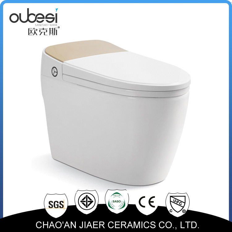 Sanitary wares automatic one-piece toilet
