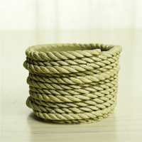 2016 Quality garden cement rope pot decorative round flower planter
