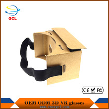 2016 Newest home theater projectors Google Cardboard Virtual Reality VR BOX 3D Google Glasses