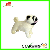 Shenzhen LEVIN White Animal Sound Plush Dog Toy For Kids