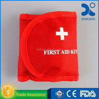 trauma bag/pocket first aid kit/emergency survival kit for self help