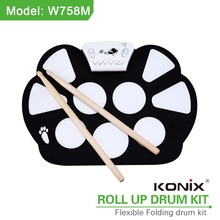 China Manufacturer Tabla Musical Instrument ELectronic Drum Kit Roll Up Drum Kit for Sale