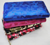 New designer pu leather camo pattern zipper round lady wallet