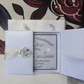 Custom Invitation Diamond Box Arabic Wedding Cards
