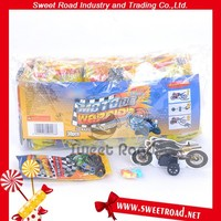 Small 3D Moto Candy Toy