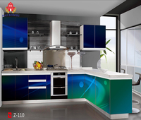 High Quality 3D Kitchen Cabinet Customize Cupboard