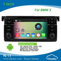 7 inch HD screen 1080P Android 4.4 Car DVD player for BMW 3 E46 M3 with mp3 mp4 digital player support DVR Rear view camera