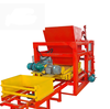 concrete brick forming machine QT4-25 paving hydraulic new cement brick and paving curbstone making machine