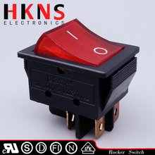 30A large size illuminated rocker switch
