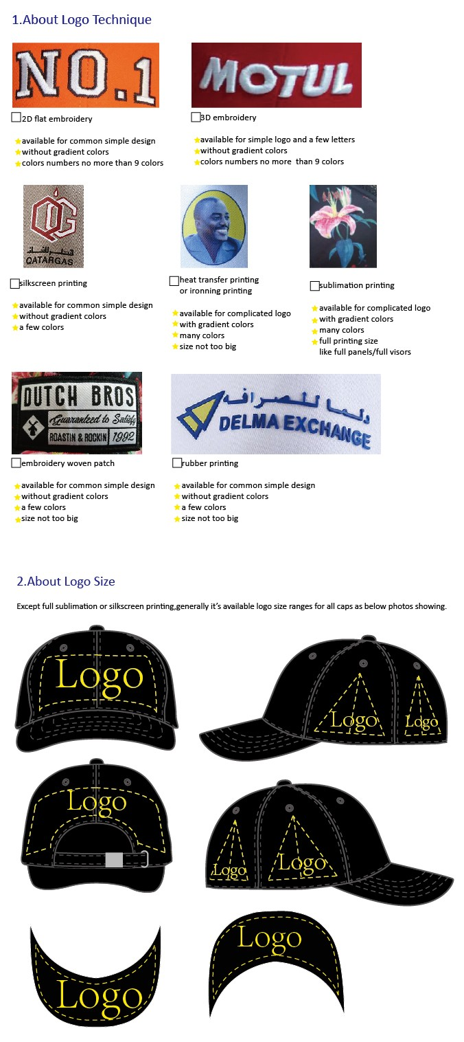 high quality factory price promotion baseball gorras