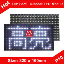 Alibaba P10 White Color Semi-outdoor LED Screen Panel