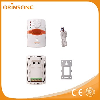 Home Safety Guard gas leak detector with printer