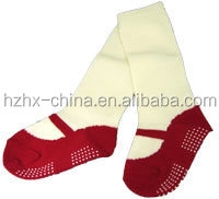 OEM Cotton fancy and lovely 3D Baby toddler Socks with anti-slip