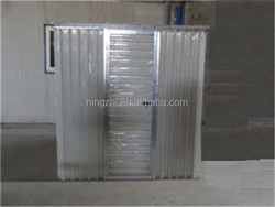prefab galvanized frame Shed house / portable shed house exporter