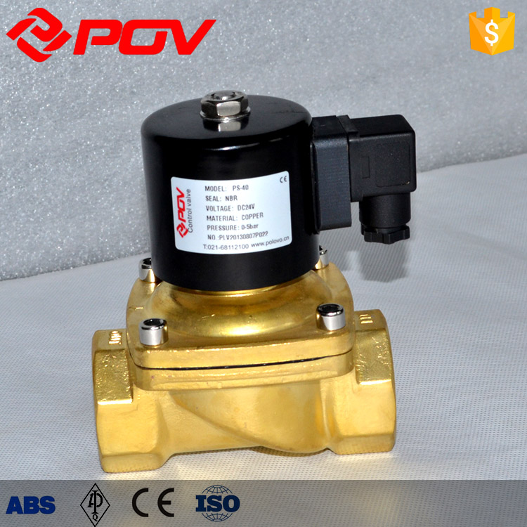 wrought brass direct acting hydraulic solenoid valve coil