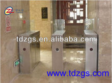Bridge type circular bead electronic sliding turnstile gate