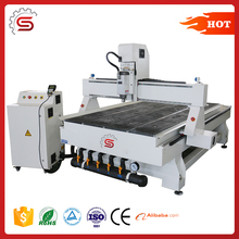 STR1325 cnc router wood cutting rotary spindle cnc router woodworking machinery
