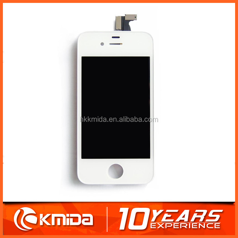 Mobile phone 4S lcd for iphone 4S lcd assembly with cheap price PayPal accepted