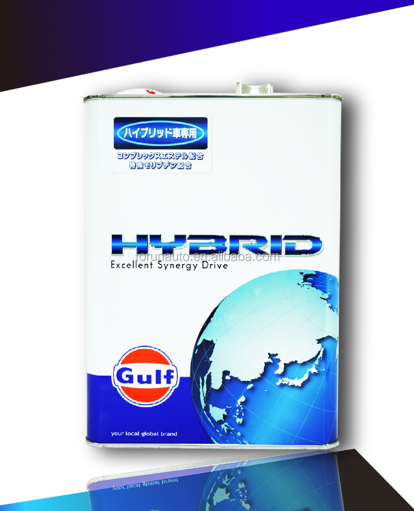 Japan imported GULF HYBRID CAMRY CT200 PR 0W20 Full synthetic engine oil Iron box (Oil tram special)
