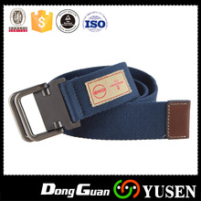 Factory Supply Custom Casual Jean Canvas Belt for Pants