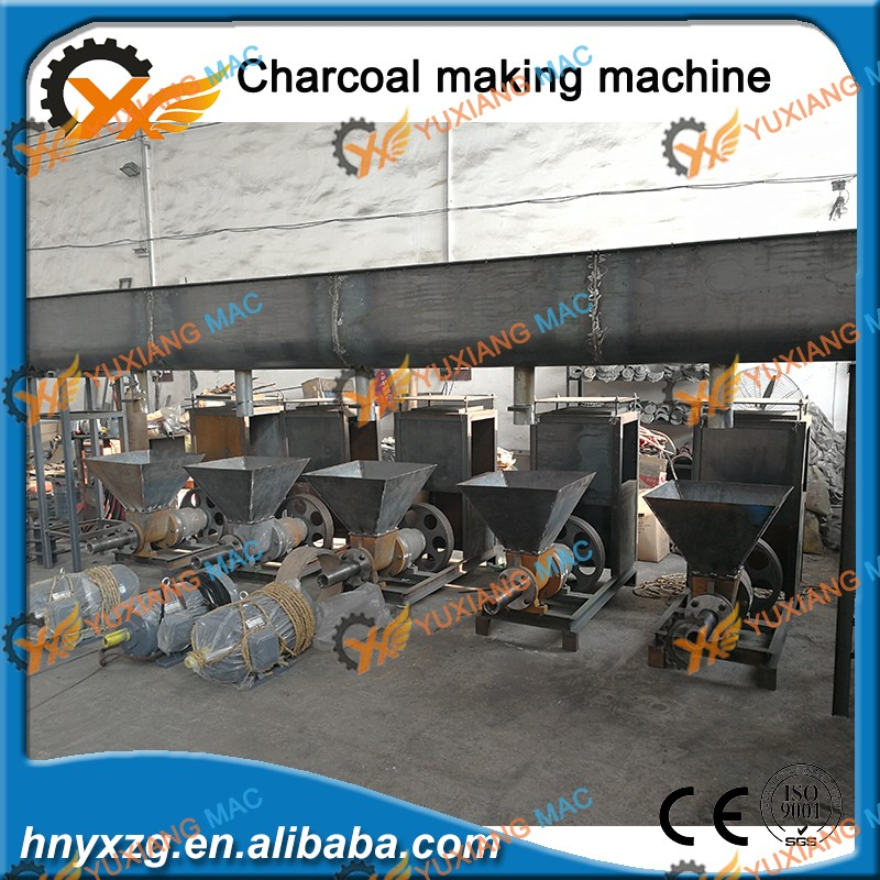 Full Automatic binderless briquette machine for briquette diy