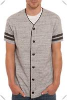 custom made Youth Varsity stripe baseball jersey, fashoion streetwear baseball jerseys for men wholesale