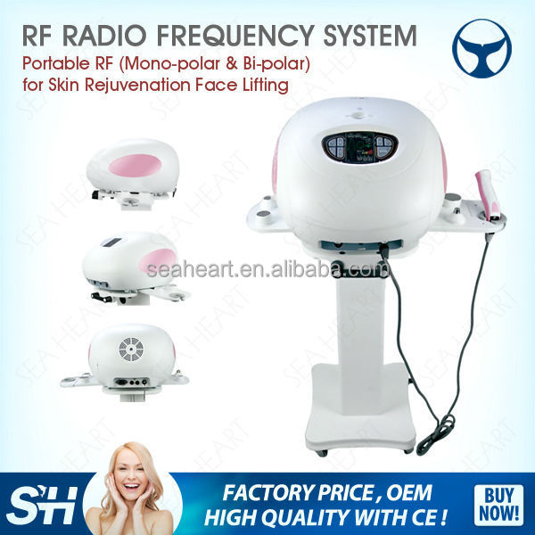 RF LED short wave radio rf skin tightening machine rf machinemachine / microcurrent face lift machine