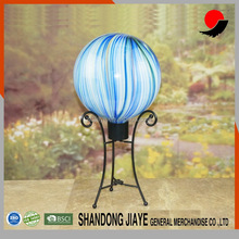 wholesale outdoor glass gazing balls for decoration