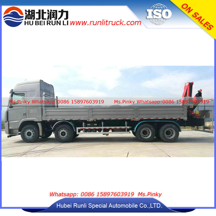12Wheels Hyundai Trago Truck Mounted Crane,12Tons Crane Lorry Trucks