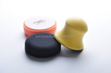 "3"" Round Wax Applicator Kit Include hand pad, fom pad."