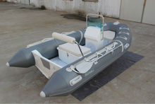 2016 CE Approved 4.3m Life Boat RIB PVC Inflatable Boat RIB Boat with Fuel Tank for Sale