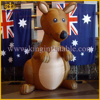 giant advertising inflatable kangaroo animal ,cheap inflatable kangaroo