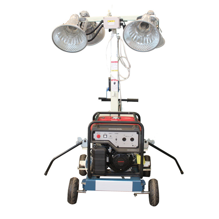 Road construction equipment 400w portable lighting tower