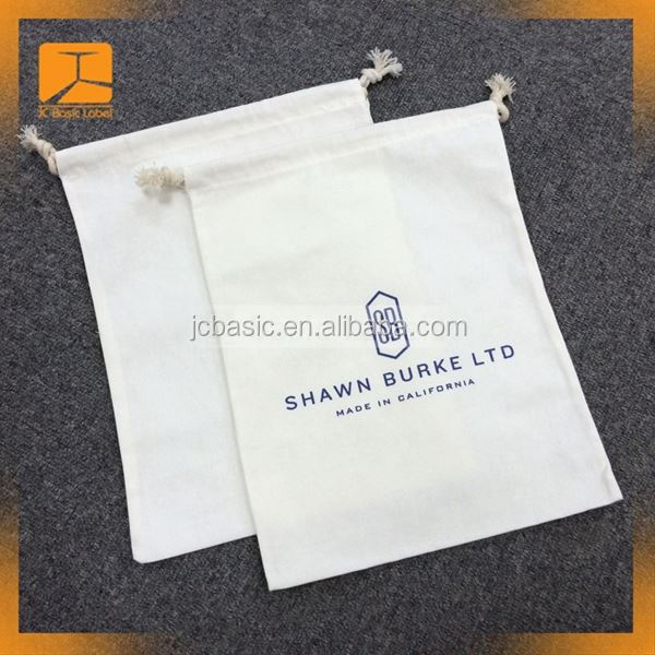 product paper dust bag with hot stamping