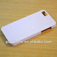 PC material spray rubberized oil mobile phone cover for iphone5