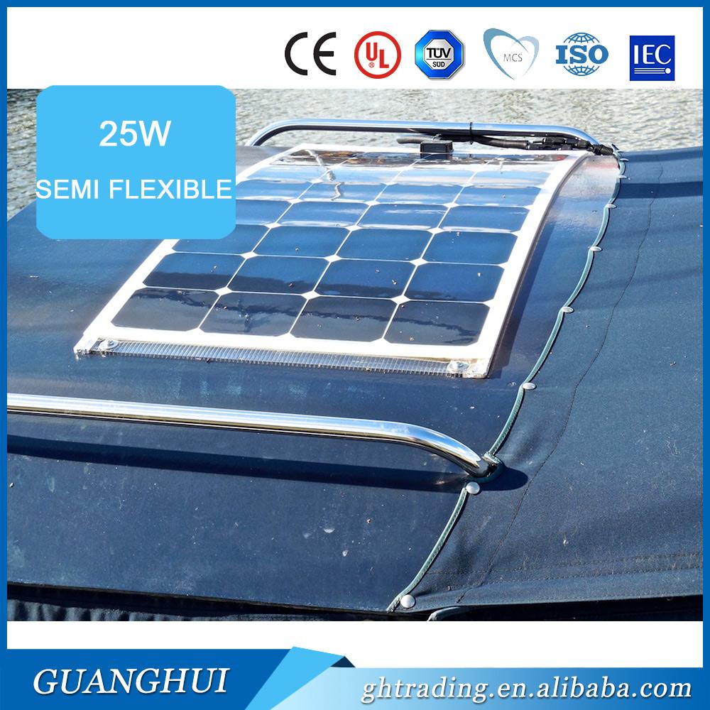 солнечная панель 100 вт на лодку