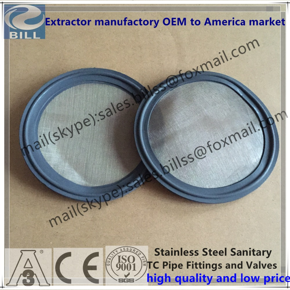 EPDM gasket with 20mesh use for tri clamps