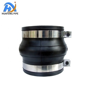 EPDM Rubber Bellows Flexible Pipe Joint Coupling